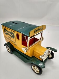 Crayola Limited Edition 1903 Delivery Car Bank with key Made by Gearbox