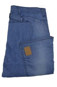 Drop Crotch Skinny Jeans - Bleached blue 28 RRP £95.00 BNWT ALEX CHRISTOPHER
