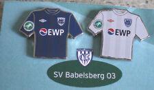 SV BABELSBERG 03 2 TRIKOTPINS MIT EWP WERBUNG-SV BABELSBERG  03--TOP-FU 124-