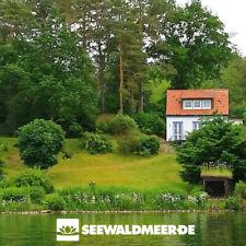 Ferienhaus am See mieten nahe Schwerin Ostsee Urlaub mit Kamin Seezugang Boot
