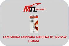 1 LAMPADINA LAMPADA ALOGENA H1 12V 55W OSRAM ANABBAGLIANTE FARO ANTERIORE