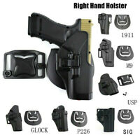 Tactical Right Hand Leg Thigh Airsoft Pistol Holster for Glock17 M1911 M92 P226