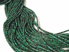 """4x2mm Multi-Color Turquoise Heishi Beads 15.5"""" Strand R10"""