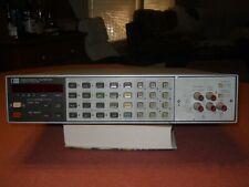 Hewlett Packard Dmm Multimeter Model 3456a