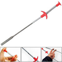 Spring Bendy Long Reach Claw Pick Up Grabber Hand Tool Lifting Grab Grip 24''