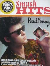 SMASH HITS 7/7/83 - PAUL YOUNG - MARILLION - MARC ALMOND