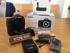 Canon EOS 60D 18.0 MP SLR-Digitalkamera - Schwarz (Gehäuse + Batteriegriff)