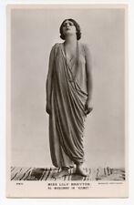 c 1910 Edwardian actress LILY BRAYTON Kismet British photo postcard
