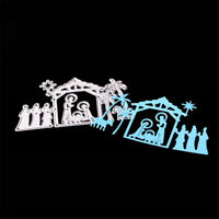 Happy Jesus's birth Metal Cutting Dies Stencils For DIY Scrapbooking Card   ZR