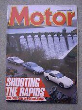 Motor (4 May 1985) Porsche 944, Lotus Excel, Nissan 300ZX, BMW 535, M5, Supervan