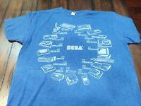 2019 E3 Rare Sega console history shirt (Large), Sega genesis, Dreamcast, etc.