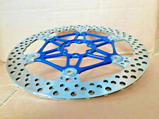 Hope Tech V2 floating VENTED rotor 203mm blue, little use, degreased, with bolts
