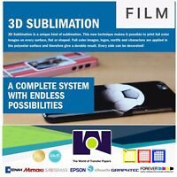 3D Sublimation Heat Transfer Film 10 Sh 8.5x11 for Vacuum heat Press Machine