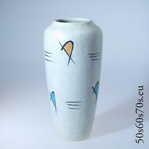 Vase Scheurich 508-30 H=30,6 cm 50s/50er Jahre - WGP - Fat Lava #1204