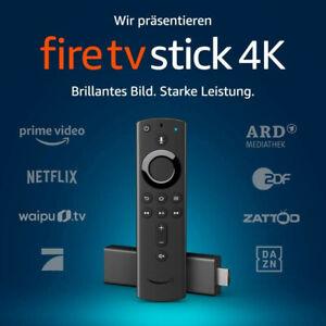 Amazon Fire TV Stick 4K (neuste Generation Alexa Sprach Fernbedienung Netflix)