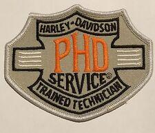 Genuine Harley Davidson technician PHD service trained technician patch NEW