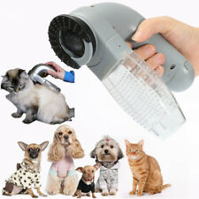☆ Electric Cat Dog Pet Hair Remover Shedding Grooming Brush Comb Vacuum Cleaner