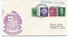 1970 Pole Station Antarctica Operation Deep Freeze Seapower Support Polar Cover