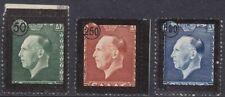 1947 Greece/Grecia, N° 542/544 2 Valores MNH