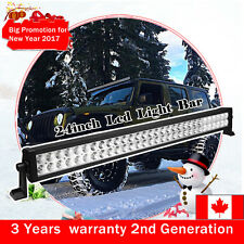 24inch 120W Led Work Light Bar Driving Fog Truck Offroad Jeep ATV SUV 4X4 20/22