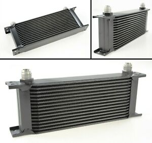 TOYOSPORTS 15 ROW UNIVERSAL ALLOY RACING ENGINE TRANSMISSION OIL COOLER AN10