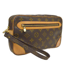 LOUIS VUITTON MARLY DRAGONNE CLUCTH HAND BAG PURSE MONOGRAM bt M51825 A54172