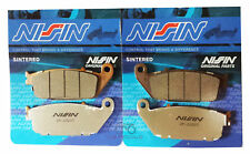 2P-202 NISSIN PASTIGLIE FRENO ANTERIORI SINTER TRIUMPH STREET TRIPLE 675 08-14