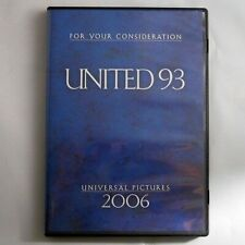 United 93 (DVD, 2006) 9-11 A&E Movie Most Watched  For Your Consideration