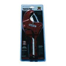 "One Handed PVC Cutter Superior Tool 37116 1/8""to 2-1/2"" OD  FREE SHIPPING! RED"