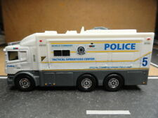 MATCHBOX POLICE MOBILE COMMAND TACTICAL OPERATIONS COMMUNICATIONS CUSTOM UNIT