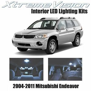 XtremeVision Interior LED for Mitsubishi Endeavor 2004-2011 (10 PCS) Cool White