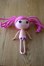 LALALOOPSY FULL SIZE DOLL PINK SILLY HAIR CRUMBS SUGAR COOKIE