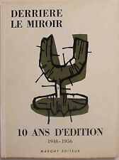 Chagall & Miro Derriere Le Miroir 10 Ans D'edition Original Lithograph & Etching