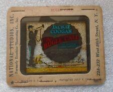 rare old movie theater magic lantern slide advertising Jackie Coogan Bugle Call
