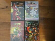 4 NEW / SEALED DVD Lot: Zelda, Stargate Infinity, Carmen Sandiego, Horseland