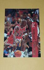 Michael Jordan 1995-96 Hoops #21 BULLS HOF