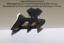Erstausrüsterqualität Ersatzdichtung für Stegplattenprofile ab 1,60 EUR/lfm