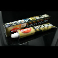 Autosol Solvol Chrome Polish/Cleaner Aluminium & Metal Paste 75ml Tube Car/ O8K8