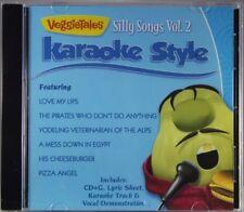 VeggieTales Silly Songs Volume 2 Christian Karaoke Style NEW CDG Daywind 6 Songs