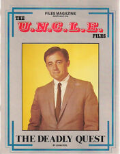 MAN FROM U.N.C.L.E. FILES The Deadly Quest (1986) Psi Fi Movie illustrated SC