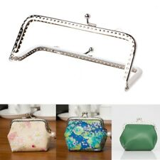 12cm 1pc Sew Holes Purse Handbag Handle Metal Coins Bag Kiss Clasp Frame