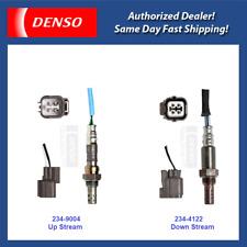 Denso Oxygen Sensor Up&Down Stream Set 2PC for 02-05 Acura RSX, Honda Civic 2.0L