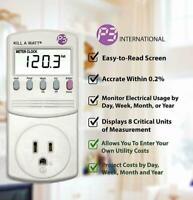P3 KILL A WATT EZ Power Usage Voltage Meter Monitor NEW P4460