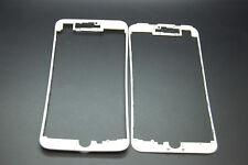 2x Iphone 7 Plus Con Marco Bisel blanco, caliente derretir pegamento, pegamento más fuerte en él
