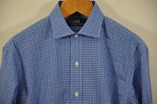 Men's Ralph Lauren, 100% Cotton, Spread Collar Estate Shirt. Size M. Armpit 24""