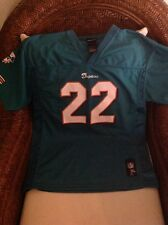 Miami Dolphins Reggie bush #22 nfl Team Apparel Jersey Size XL (18-20) YOUTH