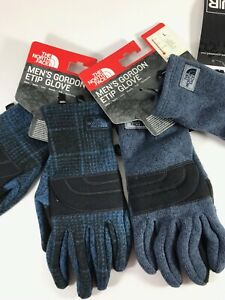 THE NORTH FACE Men's Gordon Etip Gloves TNF Choose S M L and Style Blue