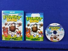 wii U FUNKY BARN *y Farming But Not As You Know It! Simulation Nintendo PAL