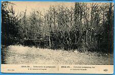 CPA: Infanterie se préparant à la contre-attaque / Guerre 14-18