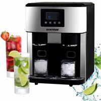 Digitaler Eiswürfelbereiter Eiswürfelmaschine mit Crushed Ice Funktion und
